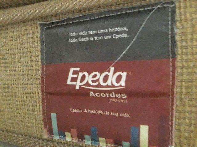 Colchão Casal Mola Epeda Acordes - 138x188 - Foto 4
