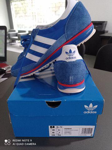 Tênis Adidas Sl 72 Azul Novo