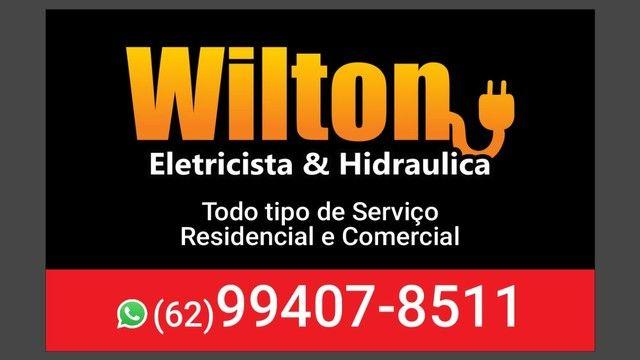 Wilton Eletricista 24 horas e feriados.