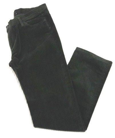 Calça Verde Militar em Veludo - Zara - Tam. 42 - Preço Imperdível!