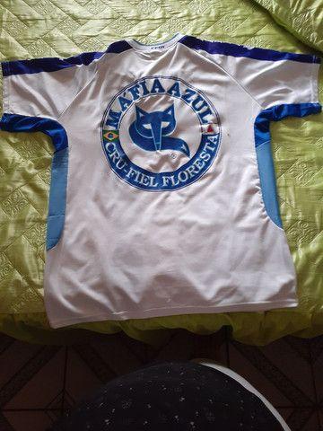 3 (três) camisas de torcida da Máfia Azul, tamanho GG - Foto 2