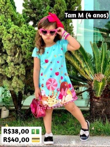 Vestidos 2 a 8 anos - Foto 2