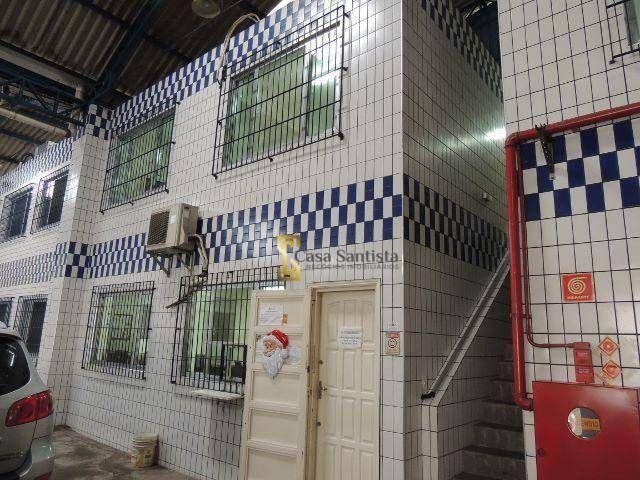 Excelente Galpão 1500m² com pé Direito 6m Escritório Entrada de Caminhão na Vila Mathias - Foto 6