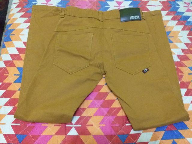 Calças jeans masculina  - Foto 3