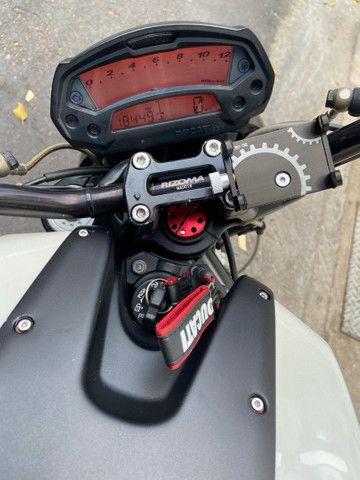 Ducati Monster 18km rodados estudo trocas - Foto 3