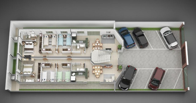 Apartamento B. Jardim Panorama. Cód. A257, 3 qts/suíte, sac gourmet, 84 m². Valor 270 mil - Foto 4