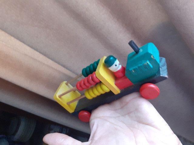 4 Brinquedos Pedagógicos de madeira - Foto 2
