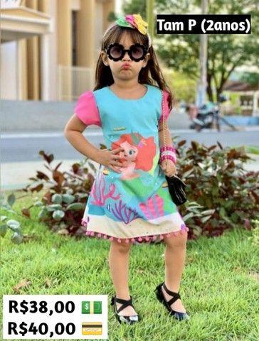 Vestidos 2 a 8 anos