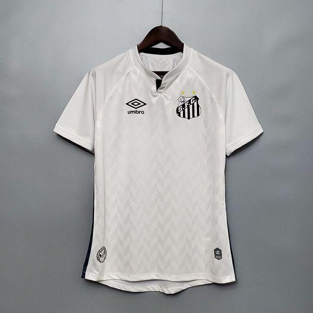 Camisa do Santos branca