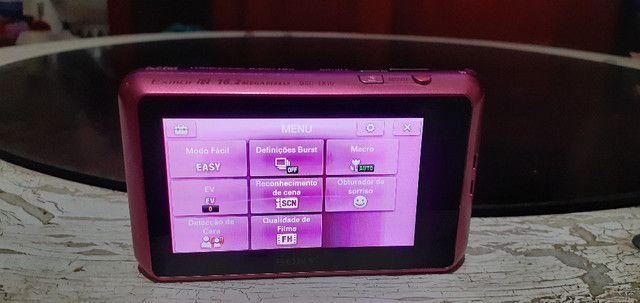 Sony Carl Zeiss Cybershot Rosa Pink 16.2 Megapixels - Foto 4