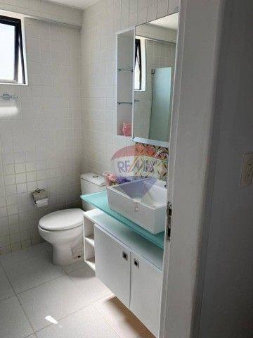 Apartamento com 3 dormitórios à venda, 130 m² por R$ 970.000,00 - Aflitos - Recife/PE - Foto 7