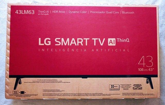 """Smart TV LG 43"""" Lacrada com Nota *leia o anuncio* - Foto 3"""