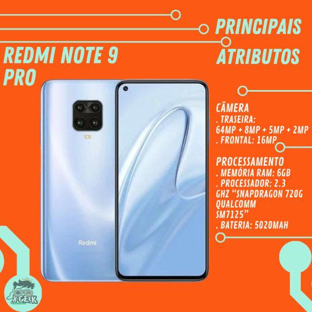 Redmi Note 9 Pro 128gb e 6gb de RAM | Versão global | Lacrado com garantia - Foto 2
