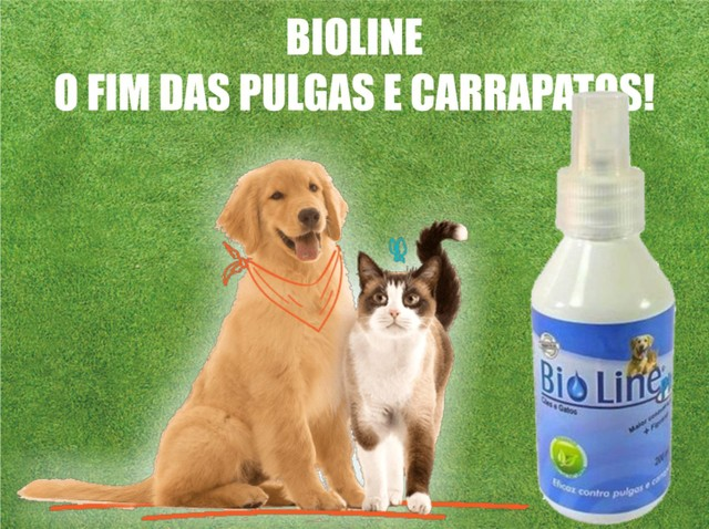 bio line spray anti pulgas e carrapatos varejo e atacado