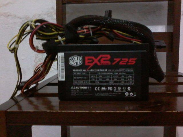 Fonte Extreme 2 725 - 600 W real