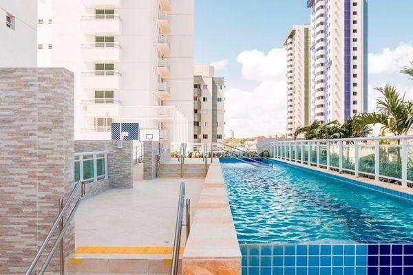 Apartamento novo 3 suites no bairro de Capim Macio, Codominio Riyal Palms, 142M²