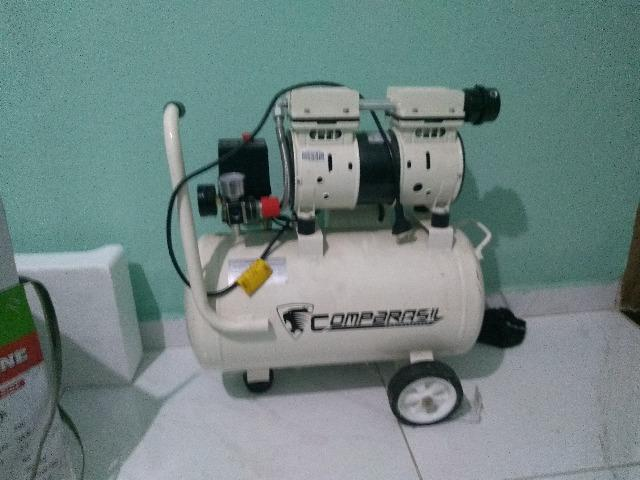 Compressor odontológico isento de óleo