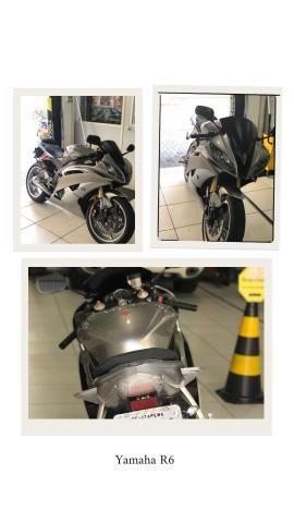 Yamaha Yzf - R6 Prata - Foto 5