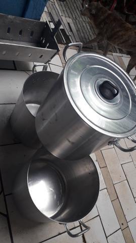 Caldeirão de alumínio 40 litros