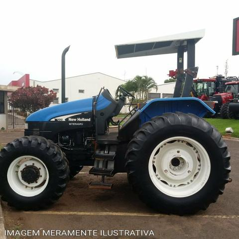 Berühmt Trator new holland ts100 - Tratores e máquinas agrícolas - Centro &VU_81