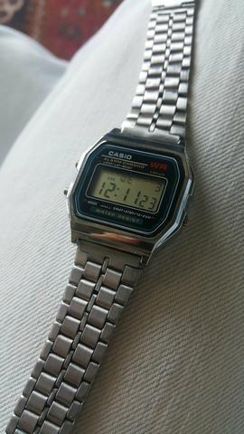 b9953f9b1 Relógio Casio Vintage Prata - Bijouterias