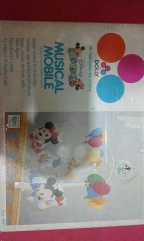 Mobile musical Disney anos 80