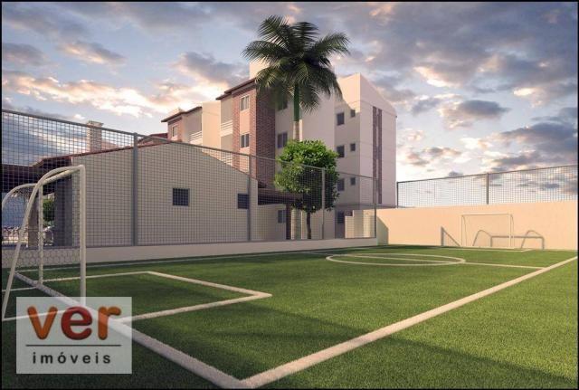 Apartamento com 2 dormitórios à venda, 48 m² por R$ 197.930 - Parangaba - Fortaleza/CE - Foto 8