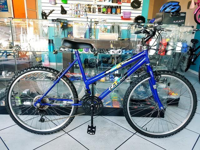 Bicicleta aro 26 . revisada . 30 dias garantia