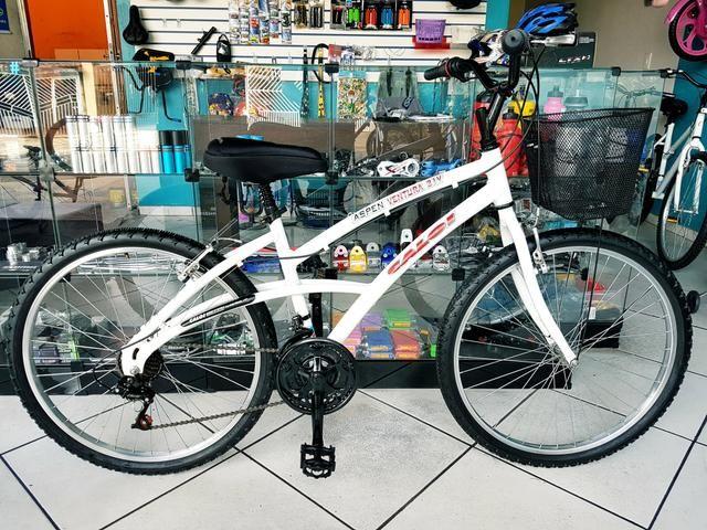 Bicicleta aro 26 . Caloi Comfort . alumínio