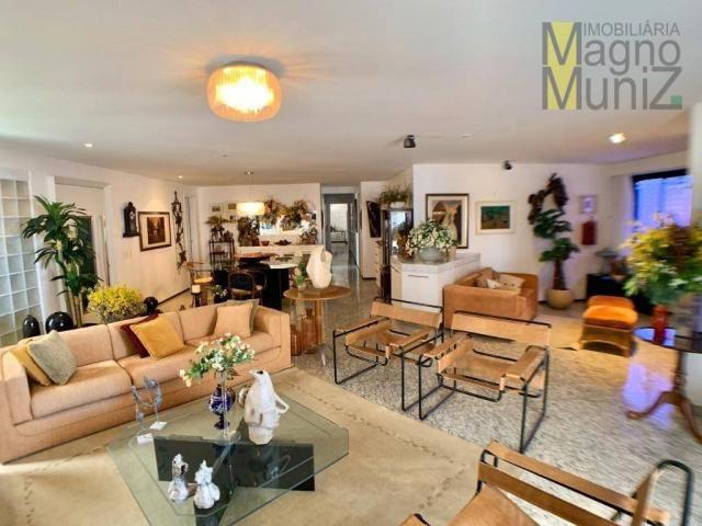 Apartamento de alto padrão à venda, 253 m² por r$ 1.650.000 - meireles - fortaleza/ce - Foto 3