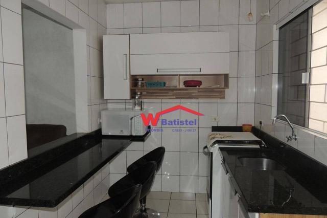 Casa com 3 dormitórios à venda, 50 m² por r$ 198.000 - rua jaguariaíva nº 288 - vila são j - Foto 4