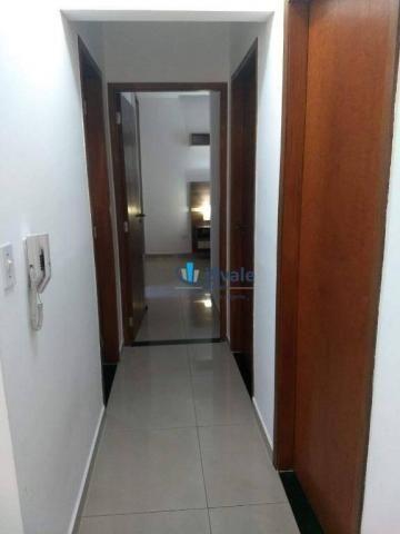 3 dormitórios sendo uma suíte e sacada na sala - jardim das indústrias - jacareí - Foto 7