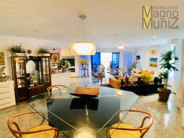 Apartamento de alto padrão à venda, 253 m² por r$ 1.650.000 - meireles - fortaleza/ce