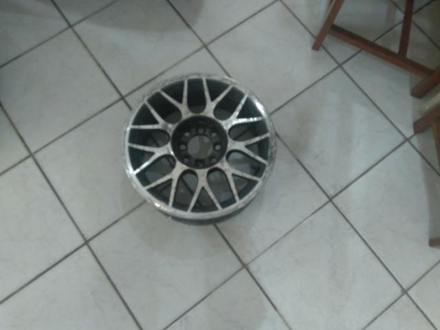 Jogo de rodas alumínio aro 15 - Foto 2