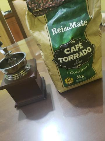 Moedor de café + café gourmet torrado em grãos - Foto 3