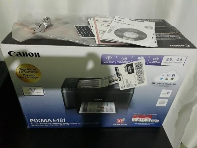 Impressora Multifuncional Canon e481 /wi-fi - Foto 3