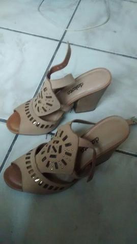 Salto/sandalha feminina