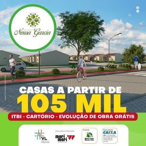 Casa no Luiz Gonzaga - 5 mil de sinal - 2 qts mensais de 399 reias de financiamento - Foto 5
