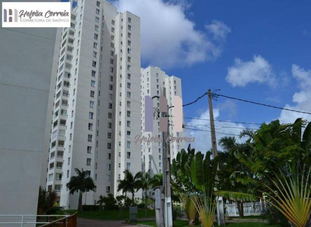 Apartamento com 3 dormitórios para alugar, 72 m² por r$ 2.000/mês - neópolis - natal/rn - Foto 2