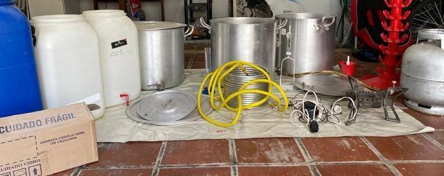 Kit completo cerveja artesanal 60 litros - Foto 6