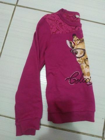 Blusa infantil tamanho 8 - Foto 2