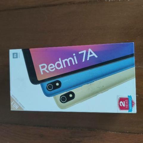 Mamãe! Redmi 7A 32 da Xiaomi. Novo Lacrado com garantia e entrega imediata