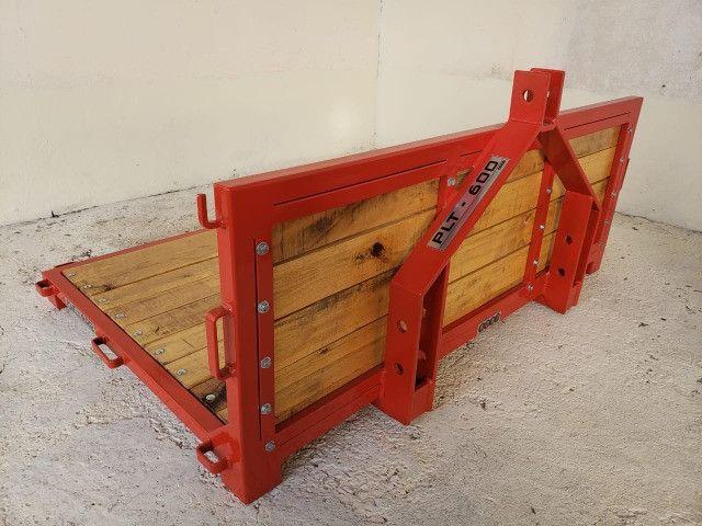 Plataforma Traseira Agrícola - PLT 600