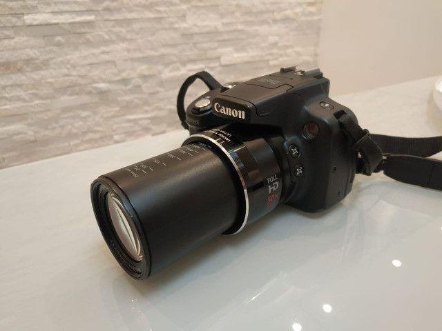 Câmera semi-profissional Canon SX50Hs - Foto 3