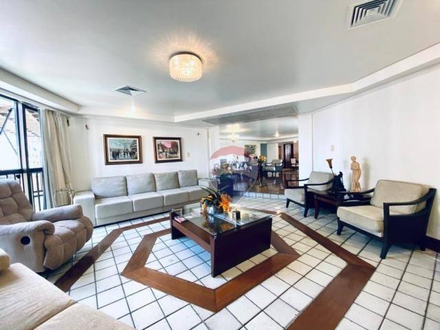 Apartamento com 5 quartos 4 Suítes, 390 m² por R$ 1.300.000 - Batista Campos - Belém/PA - Foto 3