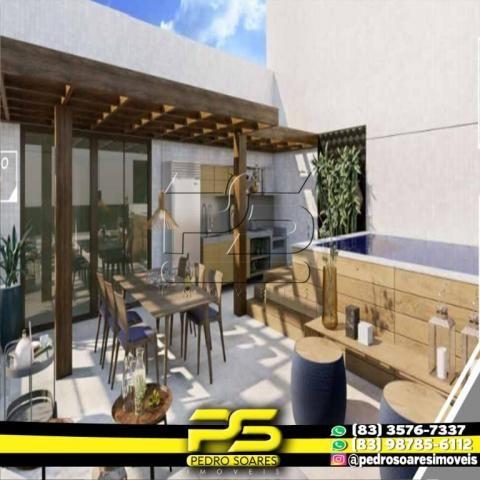 Apartamento com 2 dormitórios à venda, 60 m² por R$ 216.900,00 - Altiplano Cabo Branco - J - Foto 7