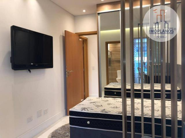 Belíssimo apartamento com 3 dormitórios à venda, 124 m² por R$ 837.585 - Canto do Forte -  - Foto 16