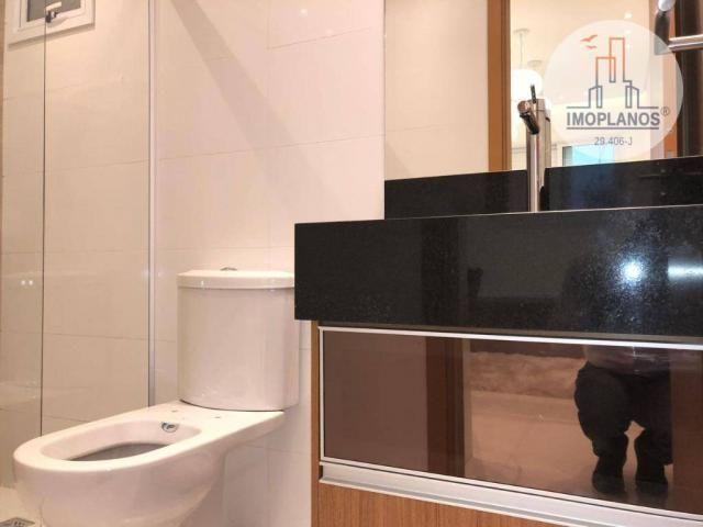 Belíssimo apartamento com 3 dormitórios à venda, 124 m² por R$ 837.585 - Canto do Forte -  - Foto 12