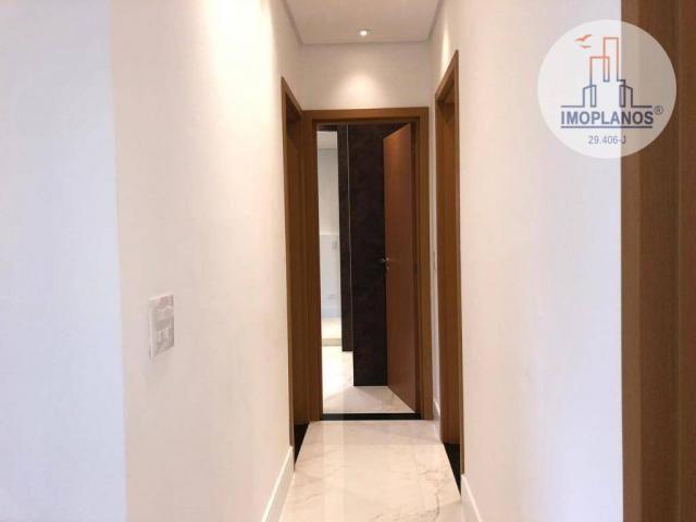 Belíssimo apartamento com 3 dormitórios à venda, 124 m² por R$ 837.585 - Canto do Forte -  - Foto 7