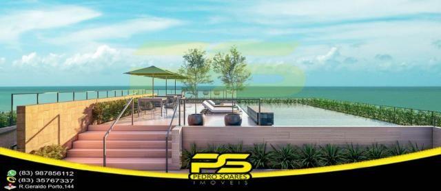Oportunidade, apartamento, 02 suítes, piscina, 53,77m², por apenas R$ 389.563,65, em Bessa - Foto 5
